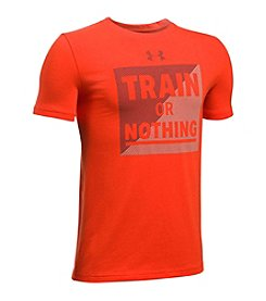 Under Armour® Train Or Nothing Tee