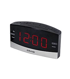 Craig Dual Alarm Clock Radio