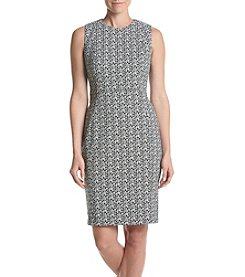 Calvin Klein Geo Sheath Dress