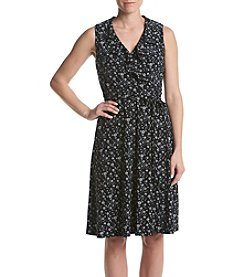 Tommy Hilfiger® Wrap Fit And Flare Dress