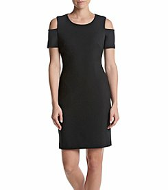 Tommy Hilfiger® Cold Shoulder Sheath Dress