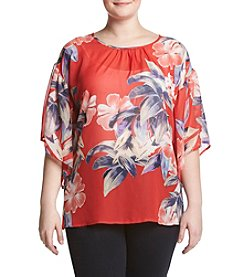 Studio Works® Plus Size Bell Sleeve Top