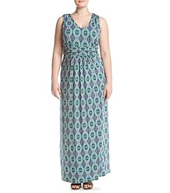 Studio Works® Plus Size Sleeveless Maxi Dress