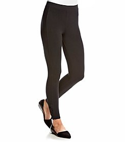 Splendid® Lace-Up Bottom Leggings