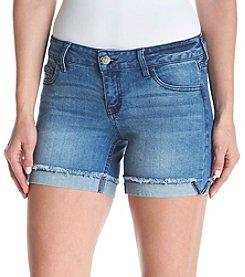 Celebrity Pink Flip Fray Shorts