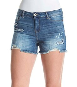 Hippie Laundry Destructed Frey Hem Shorts