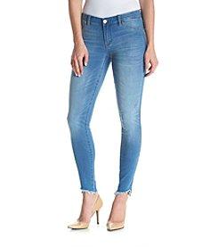 BLANKNYC® Uneven Hem Skinny Jeans