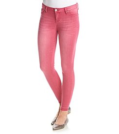 Celebrity Pink Release Hem Ankle Skinny Jeans