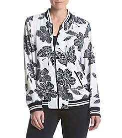 Relativity® Butterfly Bomber Jacket