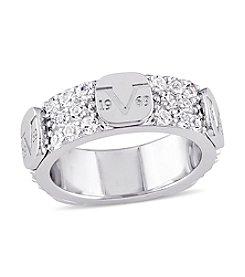 V1969 ITALIA 2 ct. White Sapphire Eternity Ring
