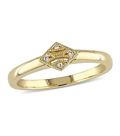 V1969 ITALIA Diamond Tapestry Ring in 14k Yellow Gold