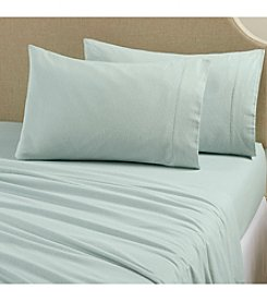 Home Fashions Nordic Collection Solid Flannel Sheet Set