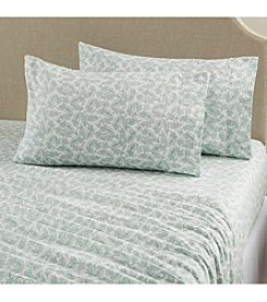 Home Fashions Aspen Collection Printed Flannel Sheet Set