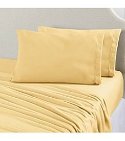 Home Fashions Maya Collection Fleece Solid Sheet Sets