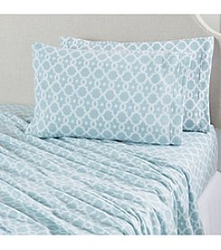 Home Fashions Dara Collection Fleece Printed Sheet Sets