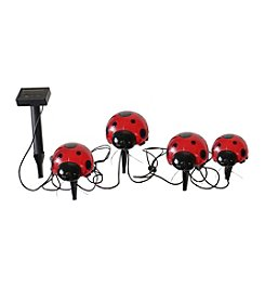 Smart Solar 4-Piece Ladybug Set