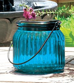 Smart Solar 3-Pack Glass Jar Solar Accents