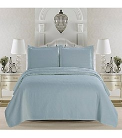 Home Fashions Emerson Collection 3-Piece Quilt Set
