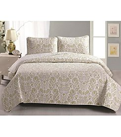 Home Fashions Martinique Collection 3-pc. Quilt Set