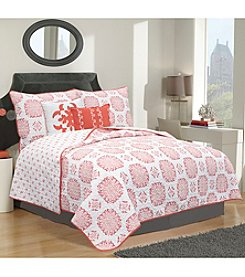 Home Fashions Filigree Collection 5-Piece Quilt Set
