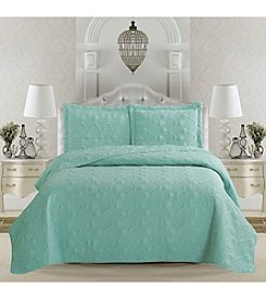 Home Fashions Rossa Collection 3-Piece Quilt Set