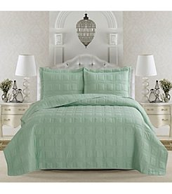 Home Fashions Terra Collection 3-Piece Quilt Set