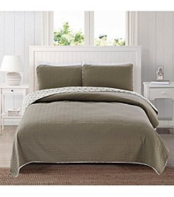 Home Fashions Avignon Collection 3-Piece Quilt Set