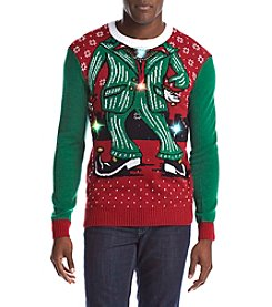 RETROFIT® Men's Elf Light Up Sweater