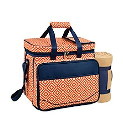 Picnic at Ascot Deluxe Picnic Cooler with Blanket  for 5