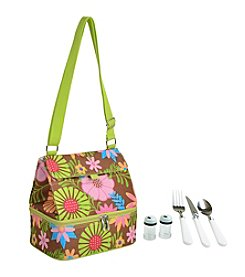 Picnic at Ascot Insulated Lunch Bag with Service for One