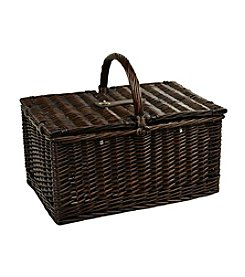Picnic at Ascot Surrey Picnic Basket for 2 with Blanket & Coffee Set