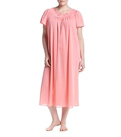 Miss Elaine® Plus Size Long Night Gown