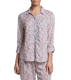 Tommy Hilfiger® Wildflower Button Down Pajama Top