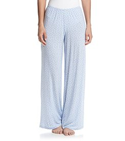 HUE® Flower Dot Pajama Pants