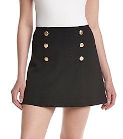 Kensie® Quilted Mini Skirt