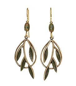 Silver Forest® Branch In Teardrop Earring.