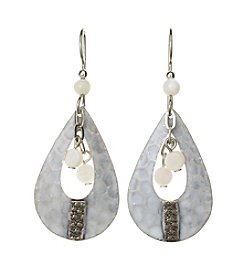 Silver Forest® Open Teardrop Earrings