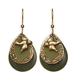 Silver Forest® Bird Layered Earrings