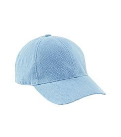 Nine West® Double Play Denim Baseball Hat