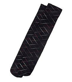 HUE® Criss Cross Trouser Socks