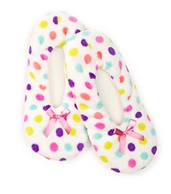 Fuzzy Babba® Dots Slippers