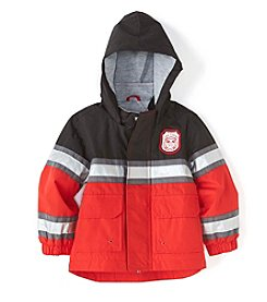 Carter's® Baby Boys Fireman Two-Tone Rain Slicker