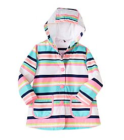 Carter's® Baby Girls' Striped Rain Slicker