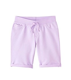 Miss Attitude Girls' 7-16 Knit Bermuda Shorts