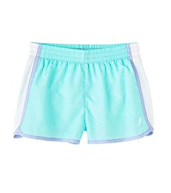 Exertek® Girls' 7-16 Solid Run Shorts
