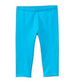 Mix & Match Girls' 2T-6X Solid Capri Leggings