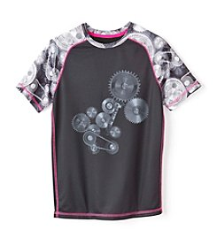 Exertek® Boys' 8-20 Short Sleeve Raglan Graphic Tee