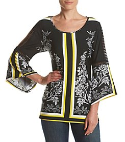 Relativity® Border Print Top