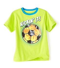 Mix & Match Boys' 2T-8 Short Sleeve Graphic Tee