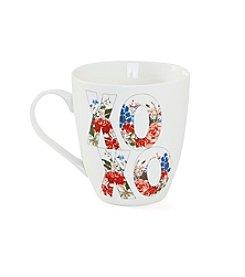 Pfaltzgraff® Floral XOXO Mug